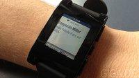 Pebble Smartwatch: Update bringt neue Features, Lösung für deutsches Zoll-Problem