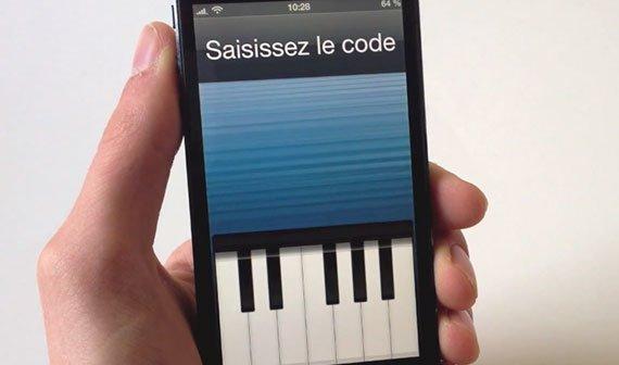 Piano Passcode: Codesperre in Klavier-Form [Cydia]