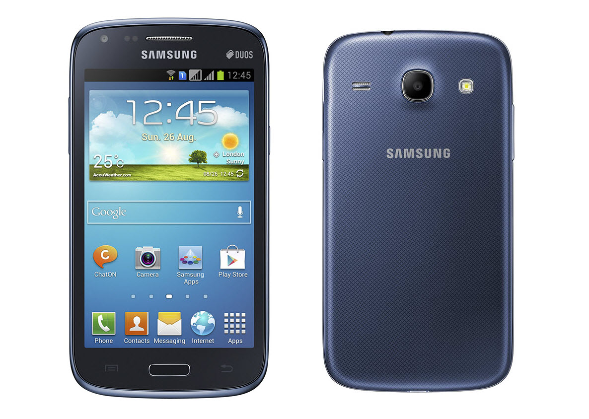 Samsung Galaxy Core Dual Sim Dual Core Und 4 3 Zoll Display