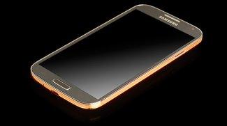 Goldig: Luxus-Version des Samsung Galaxy S4 kostet 2000 Euro