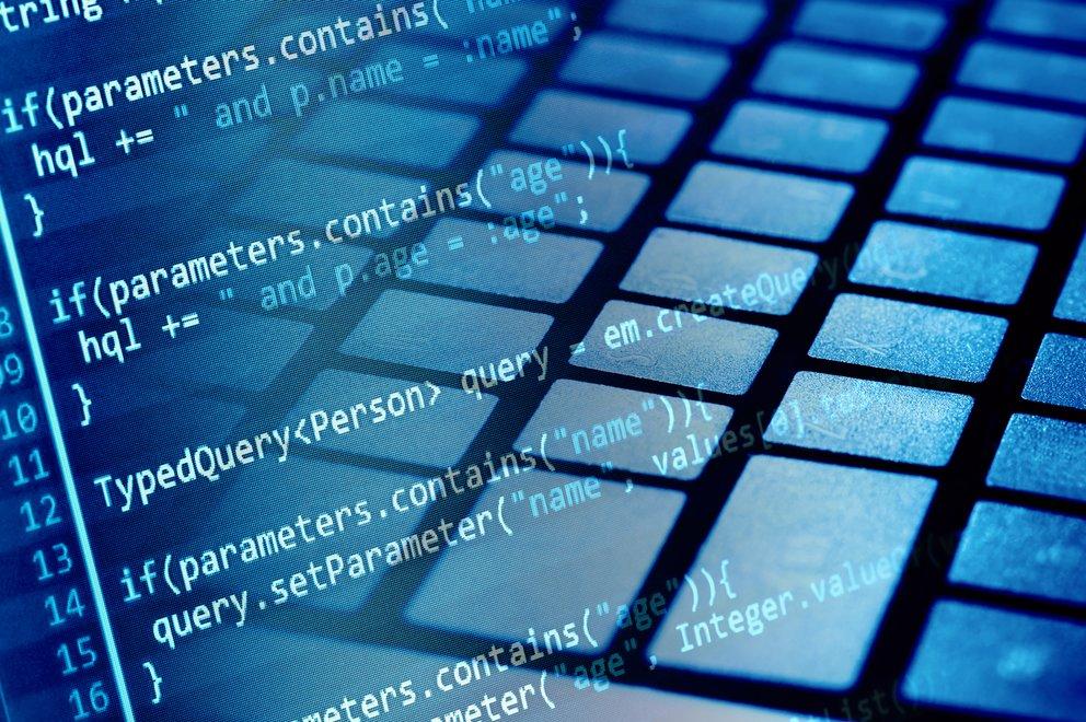 Program code and computer keyboard