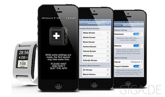 Smartwach+: Cydia-App bringt mehr Features auf Pebbles Smartwatch