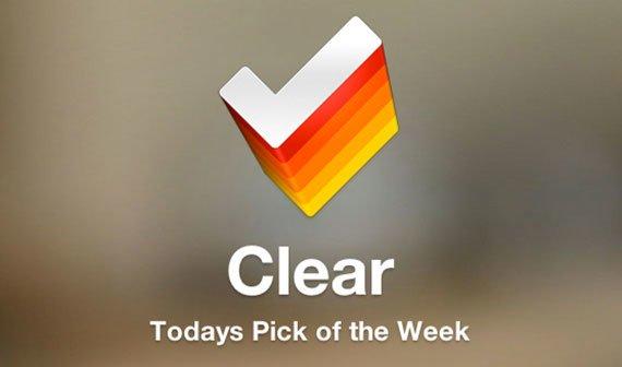 Clear: Empfehlenswerte To-Do-App heute kostenlos