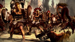 Total War - Rome 2: SteamOS- und Steam Controller-Support geplant