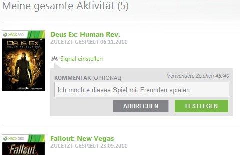 Xbox.com: Upgrade erlaubt leichtere Kontoverwaltung