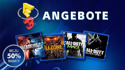 E3-Angebote im PS Store: 50% Rabatt auf CoD, inFamous und Killzone