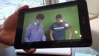 ASUS MeMO Pad HD 7: Günstiger HD-7-Zoller im Hands-on-Video