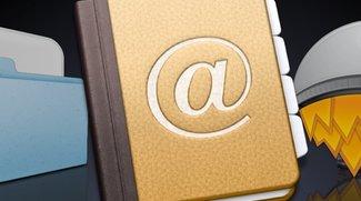 Mac Adressbuch: Privaten Filter für Visitenkarte anlegen (Tipp)