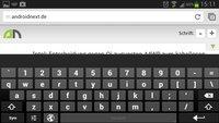 Android-Keyboard: Zahlenreihe mittels PC-Layout aktivieren [Tipp]
