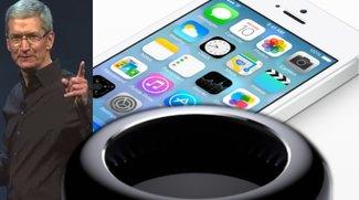 Keynote-Zusammenfassung: Apple zeigt Bonbon-iOS 7 und verabschiedet die OS X-Katzen