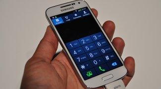 Samsung Galaxy S4 mini im ersten kurzen Hands-On