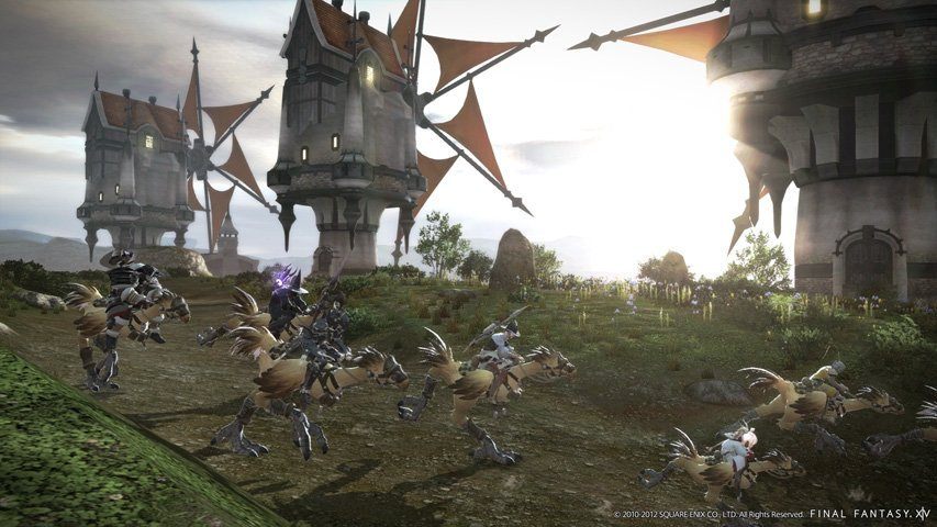 Final Fantasy 14 - A Realm Reborn: Square freut sich über 1 Million Beta-Registrierungen