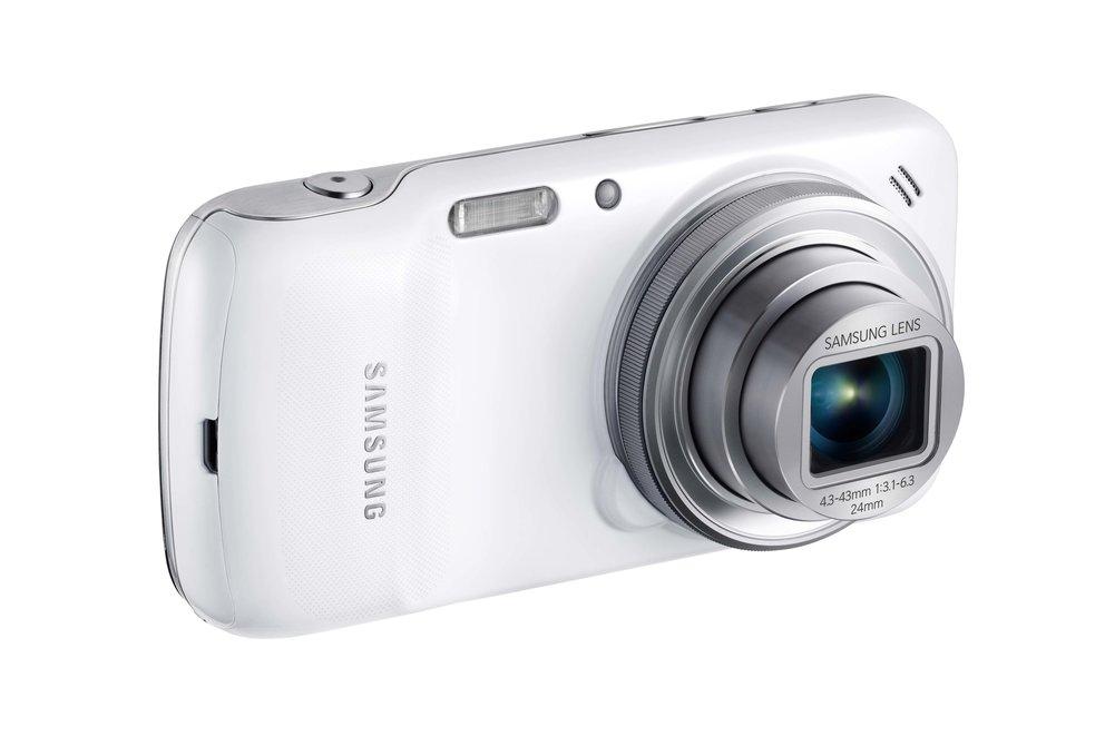 Samsung Galaxy S4 zoom: Smartphone-Kamera-Hybrid für ca. 500 Euro vorbestellbar