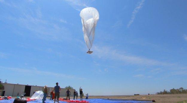Google Project Loon: Neue Details zum Ballon-Internet enthüllt [Video]