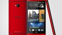 HTC One: Rote Version offiziell angekündigt [Update: Auch für Deutschland]