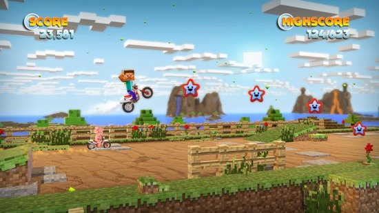 Joe Danger: PC-Version mit TF2-Charakteren und Minecraft-Levels