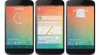 Android Key Lime Pie Konzept: Ganz im Stil von Google Now