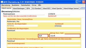 MHS Überweisung Download