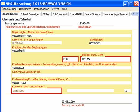 MHS Überweisung Download kostenlos   GIGA