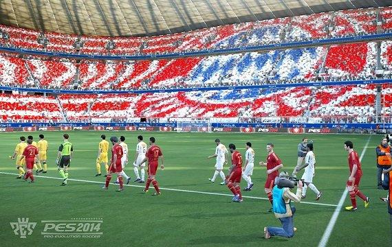 PES 2014: Konami veröffentlicht die ersten Screenshots