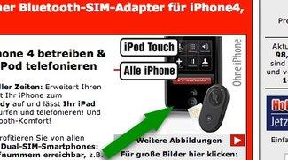 Betthupferl: Das iPhone mit zwei Homebuttons