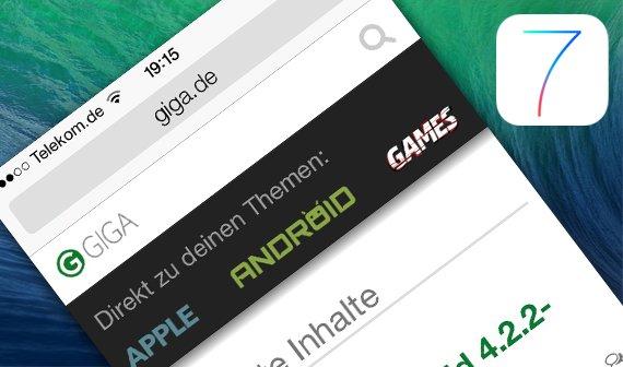 iOS 7: Das ist der neue Safari