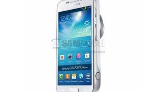 Samsung Galaxy S4 Zoom: Erste Gerätebilder zeigen Galaxy Camera Light