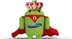 Samsung ist der König des westeuropäischen Smartphone-Marktes