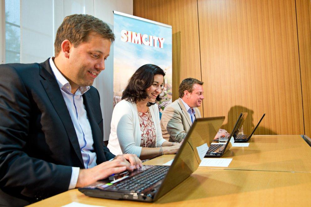 SimCity: Mitglieder des Bundestages im Ingame-Wahlkampfcheck