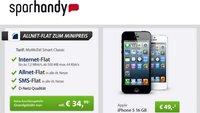 iPhone 5 16 GB für 49,00 Euro mit Allnet-Flat