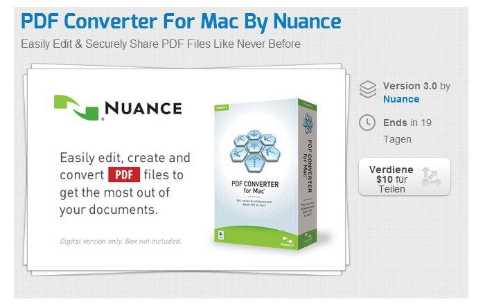 PDF Converter für Mac 3.0 für 37,74 Euro bei Stacksocial