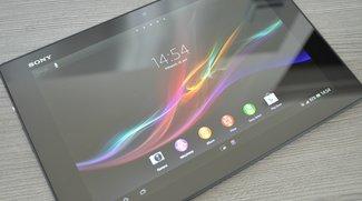 Sony Xperia Tablet Z im Test: Flach, schön und schnell (leer)