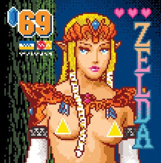 Spiele-Kulturschock: Der Designer J. Buffum zeigt Zelda, Peach und Samus als Sexarbeiterin