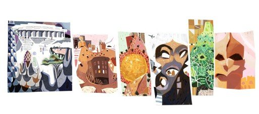 Antoni-Gaudi-Doodle