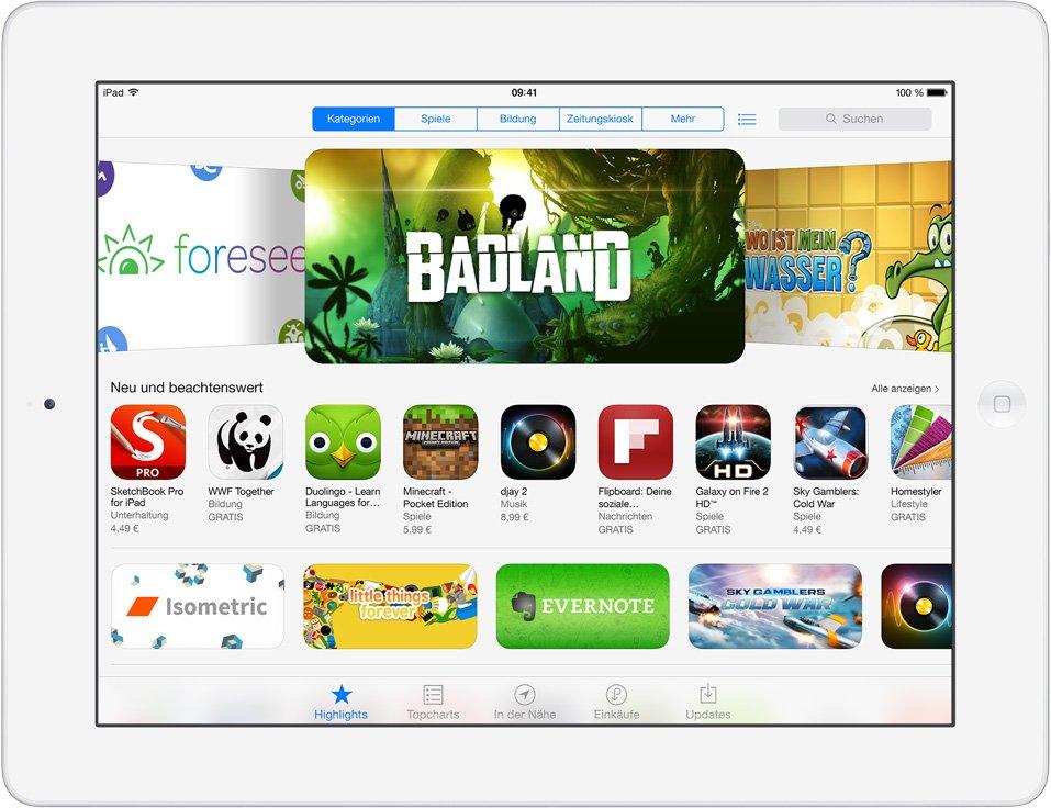 iOS 7: Der neue App Store