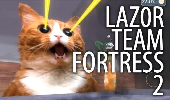 Laser Katze tötet Team Fortress 2 Grinder
