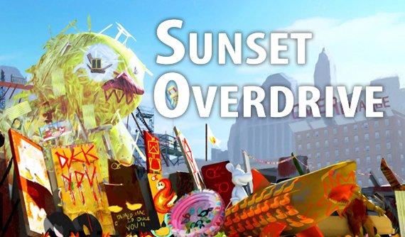 Sunset Overdrive: Freerunning, Zombies, Splatter!