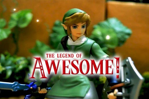 Stop-Motion Zelda-Film: Awesome, unbedingt gucken!