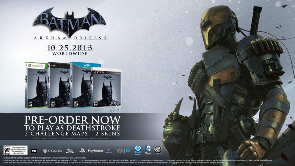 Batman Arkham Origins: Vorbesteller-DLC wohl nicht für die Wii U