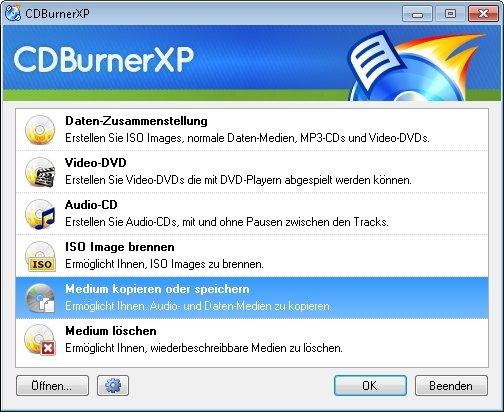 CDBurnerXP Screenshot