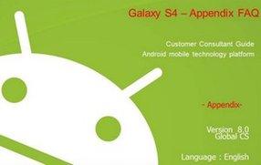 Galaxy S4: Mitarbeiter-Handbuch mit Tipps zum Download