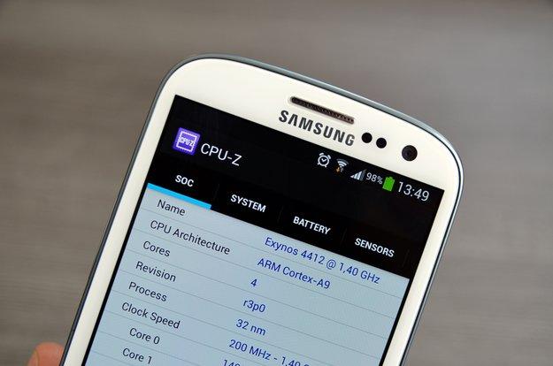 CPU-Z: Erste Beta des Hardwareanalyse-Tools für Android erschienen