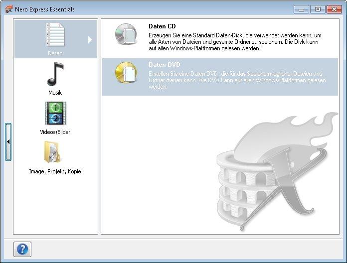 MP3 Daten Cd brennen