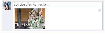 Facebook Bilder-Kommentare