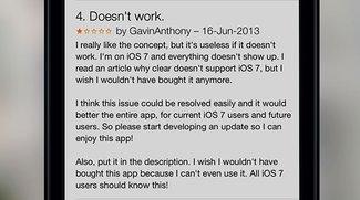 iOS 7 Beta installiert? Bitte bewertet keine Apps! [Kommentar]
