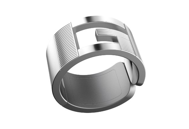 GEAK Ring: Ein NFC-Ring, Smartphones zu entsperren, Kontaktdaten zu senden ...
