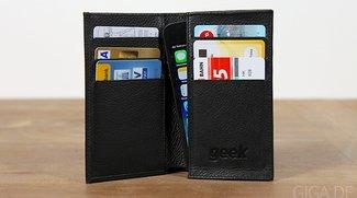 Hands-on: GEEK Leder-Tasche fürs iPhone [Verlosung]