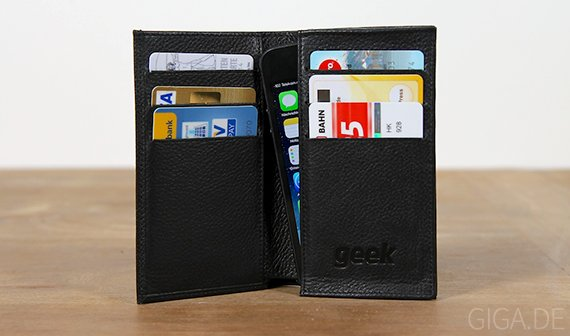 Hands-on: GEEK Leder-Tasche fürs iPhone [Verlosung]