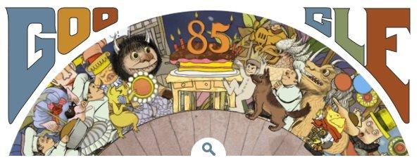 google-doodle-maurice-sendak