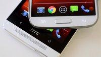 Android 4.3: HTC One und Galaxy S4 Google Editions erhalten Update